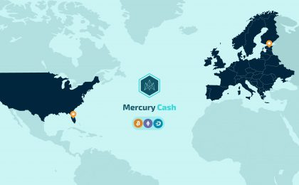Mercury cash expands and becomes a financial institution in Estonia