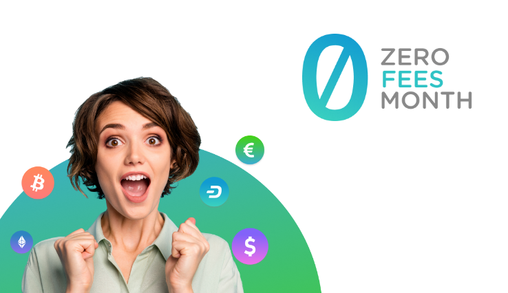 In crisis there are always opportunities! zero fees until April 30th, 2020