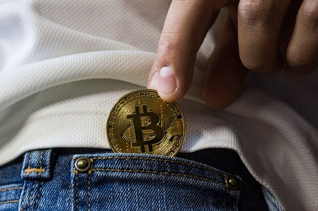 Where are Bitcoins kept or stored?