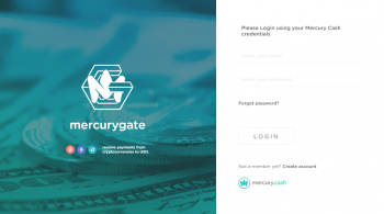 What are the benefits of using the Mercury Gate to process payments?